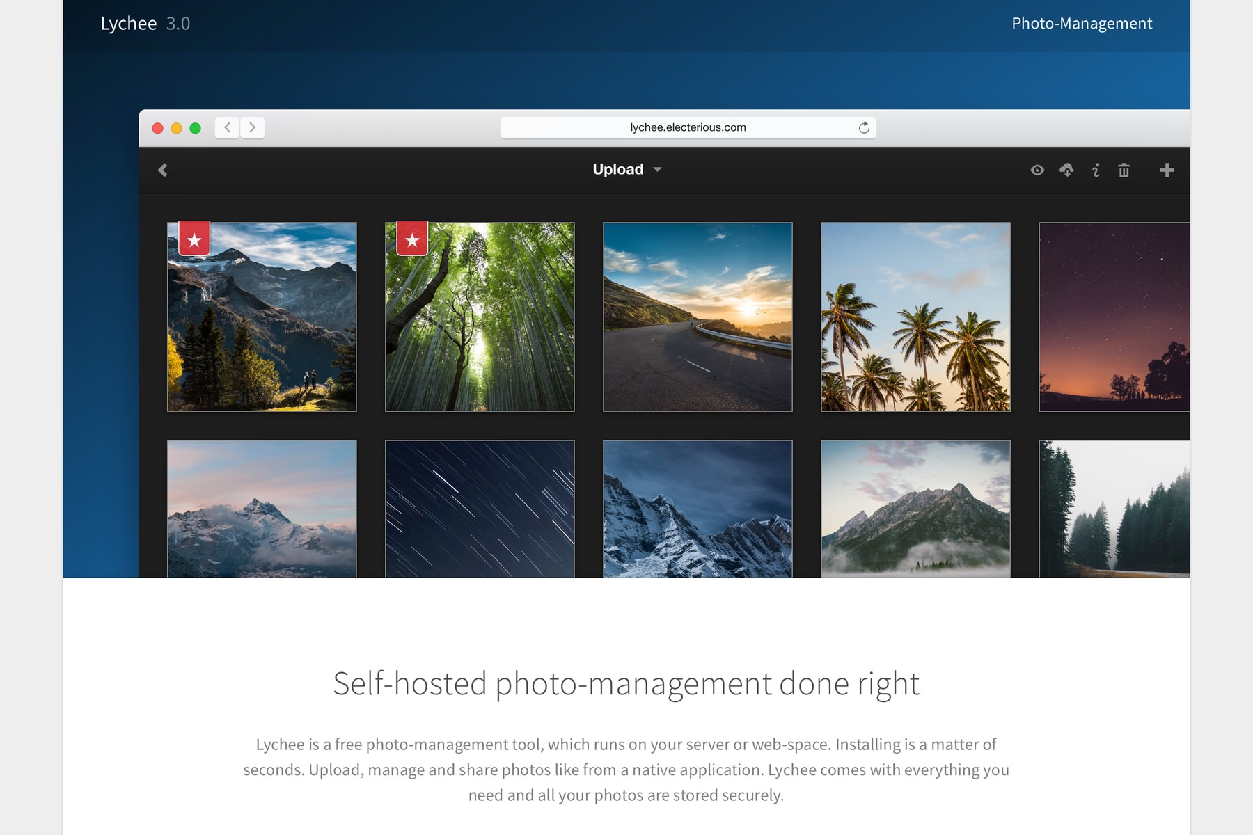 Lychee — Self-hosted photo-management done right